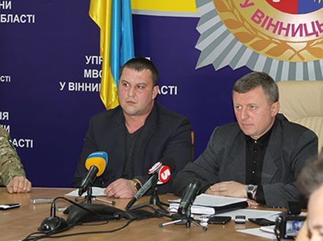 Руководство милиции Винницкой области
