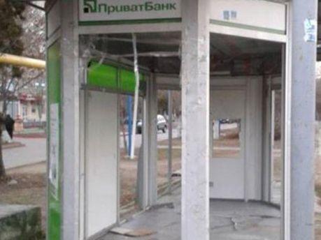Разбитое отделение банка