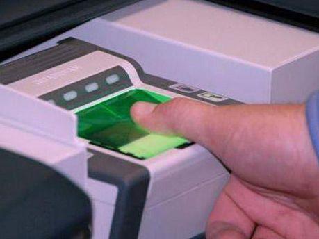 Снятие отпечатков пальца