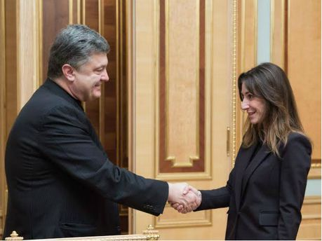 Петр Порошенко и Екатерина Згуладзе