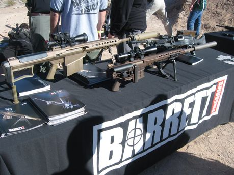 Оружие Barrett Firearms
