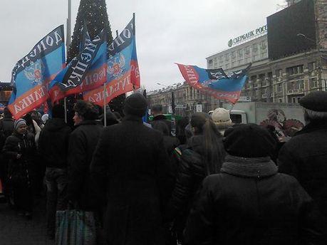"""У Донецьку розпродують російську """"гуманітарку"""", — журналіст"""