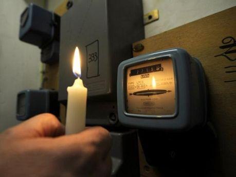 Свічка і лічильник