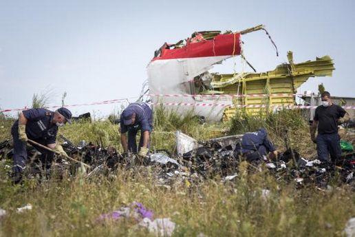 На місці катастрофи Boeing 777