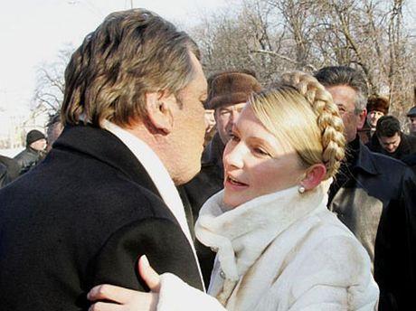 Тимошенко и Ющенко