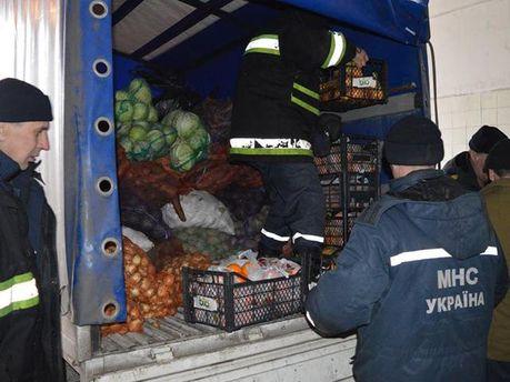 Украинская гуманитарная помощь прорвалась на оккупированную территорию