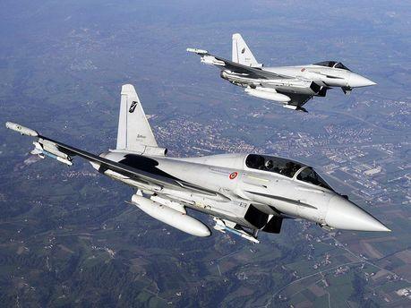 Истребители Eurofighter Typhoon
