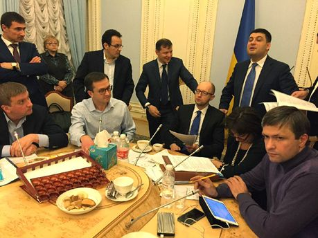 Заседание коалиции