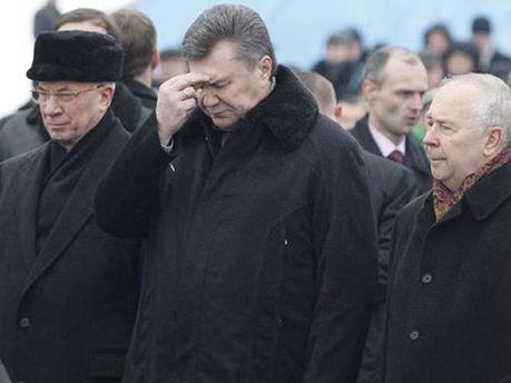 Азаров, Янукович и Рыбак