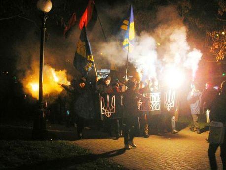 Шествие в Днепропетровске