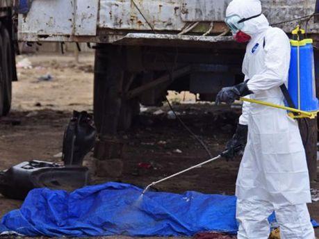 Жертва вірусу Ебола