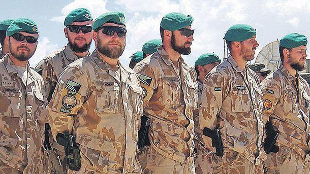 Военнослужащие в Чехии