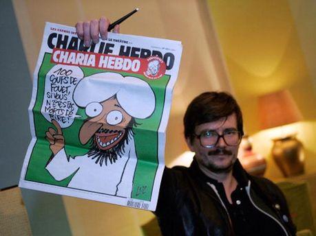 Скандальная обложка Charlie Hebdо