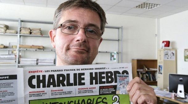 Погибший редактор Стефан Шарбонье