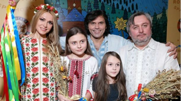 Супруги Ольга Сумская и Виталий Борисюк