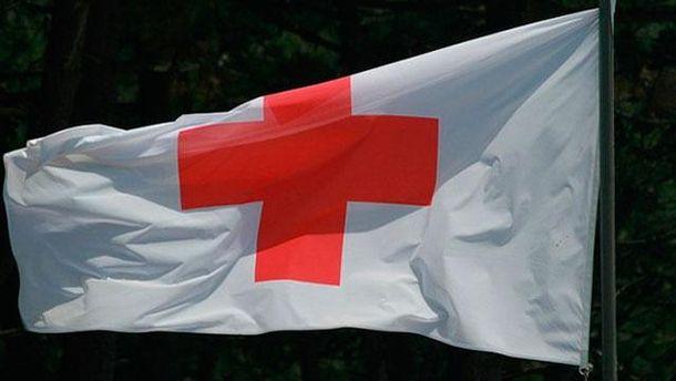 Флаг Общества Красного Креста