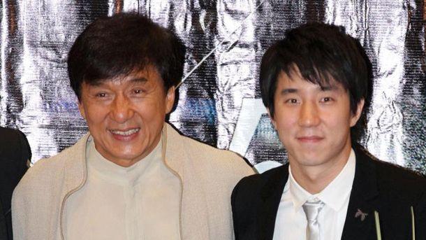 Джекі  Чан з сином