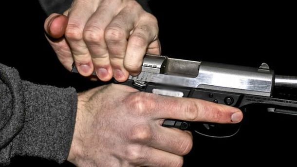 Участник АТО стрелял из огнестрельного оружия
