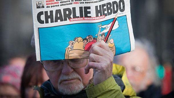 В Германии напали на офис газеты, перепечатавшей карикатуры Charlie Hebdo