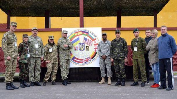 Військові навчання Rapid Trident 2014