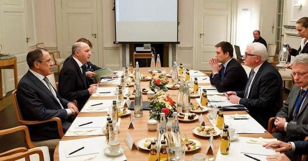 Переговоры в Берлине