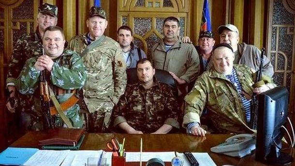 Луганские террористи