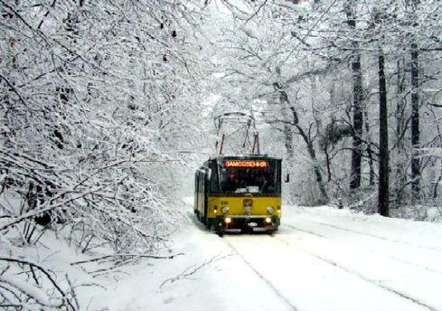 В Киеве запустили библиотечный трамвай для детей