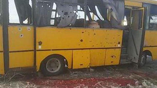 Розстрыляний автобус