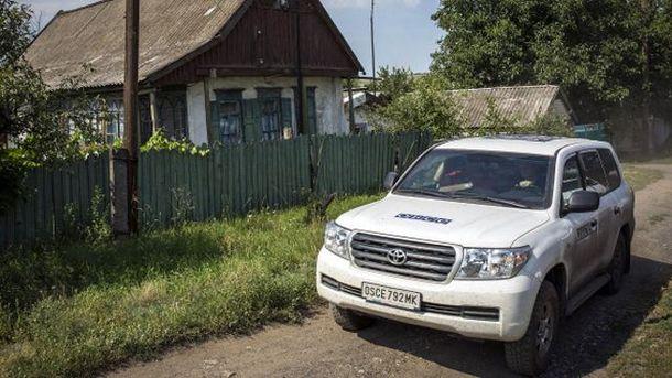 Автомобиль миссии ОБСЕ