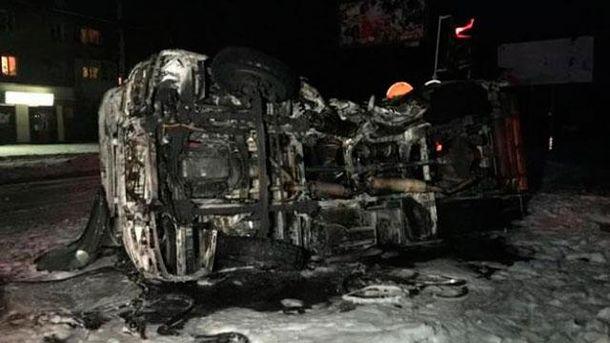 Аварія в Донецьку
