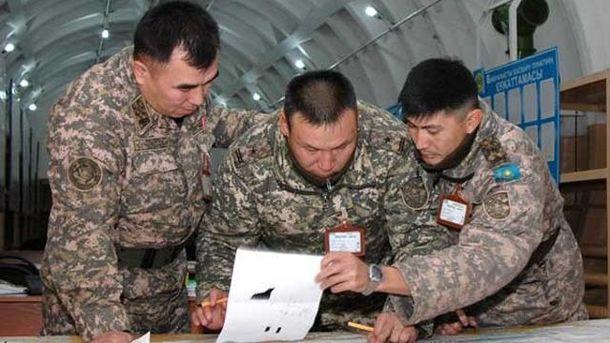 Казахстанские военные