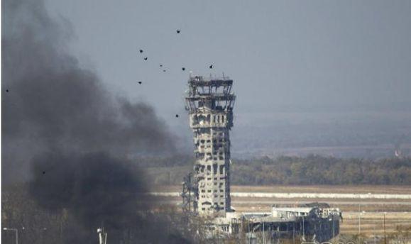 """Террористы применили против """"киборгов"""" газ, — пресс-центр АТО"""