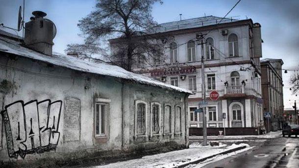 В Донецке горит один из старейших памятников архитектуры