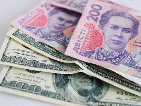 Гривні і долари