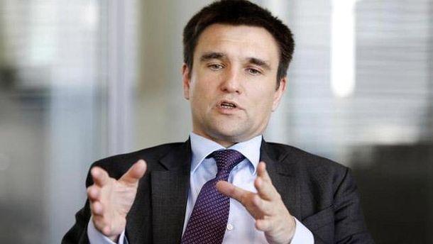 Клімкін роз'яснив статус донецького аеропорту за мінськими домовленостями