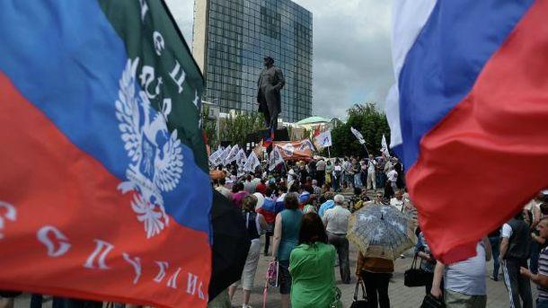 У Щасті і Станиці терористи вимагають вийти на мітинги проти української армії
