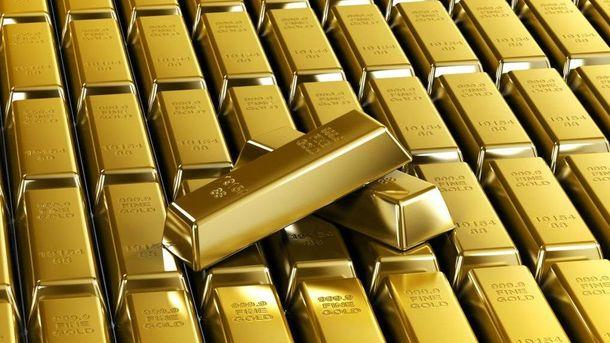 Злитки золота
