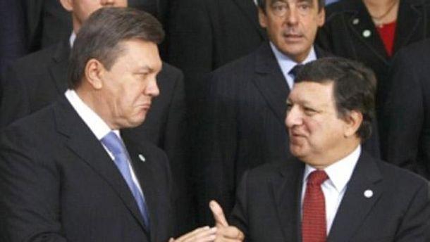 Янукович и Баррозу