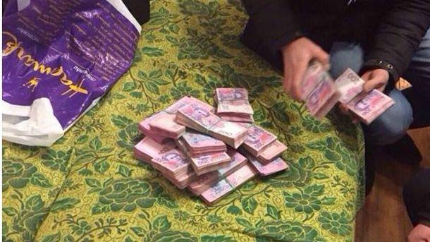 Деньги задержанного