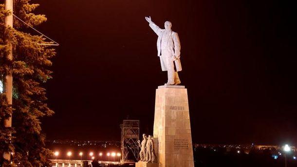 Ленин в Запорожье
