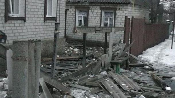 Руйнування в Попасній