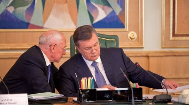 Микола Азаров і Віктор Янукович