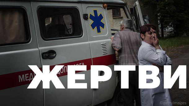 За сутки из-за обстрелов погибли 6 мирных жителей Донецкой области