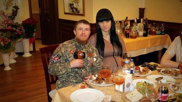 Моторола з женой