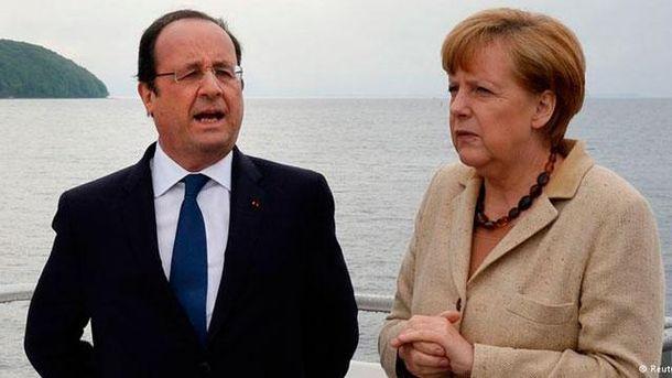 """Меркель та Олланд везуть Путіну свій """"мирний план"""", — ЗМІ"""