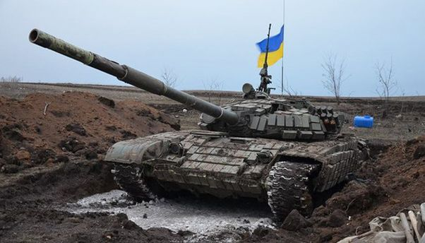 Відбитий танк