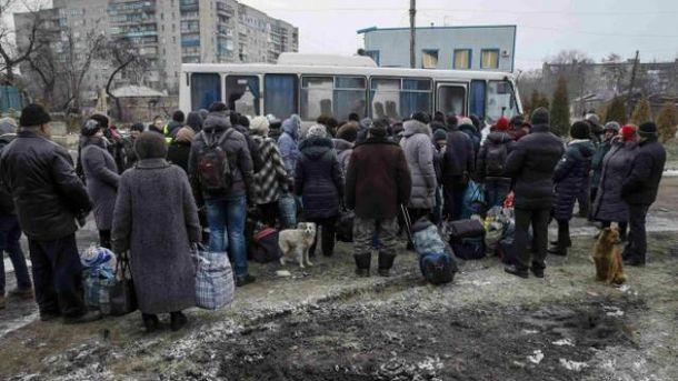 Эвакуация в Дебальцево