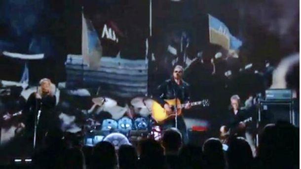 На Grammy показали кадри з Майдану