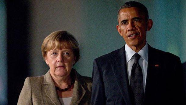 Ангела Меркель та Барак Обама