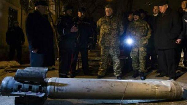 Порошенко вночі приїхав у обстріляний Краматорськ